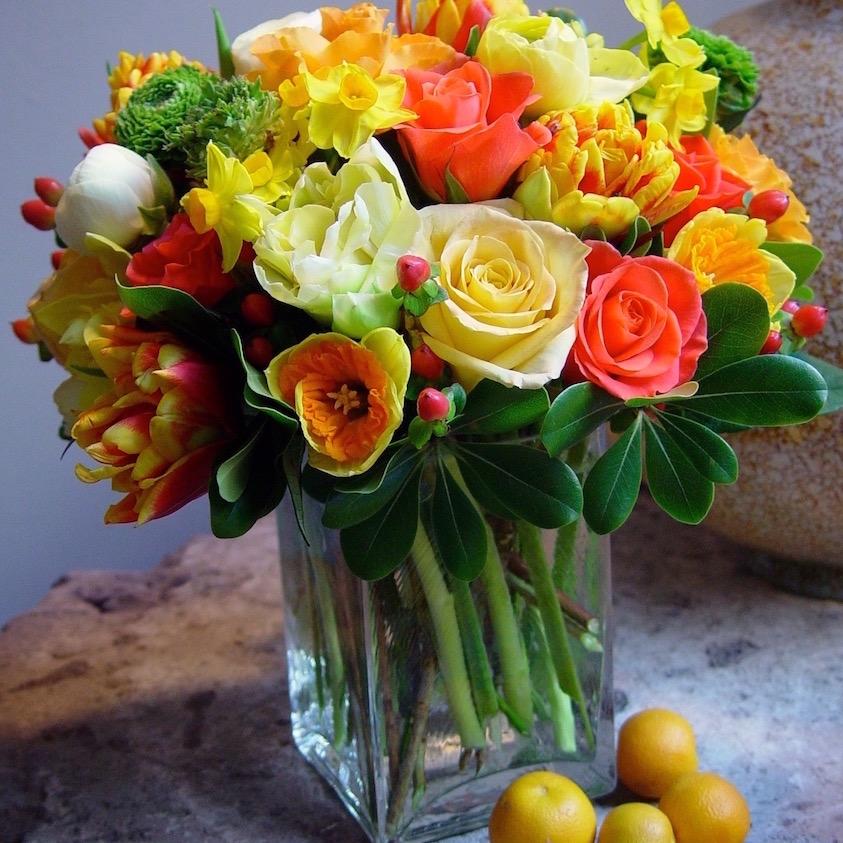 Unique floral designs Tenfold Style