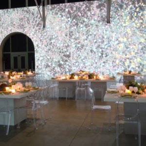 Museum dinner reception Tenfold Style