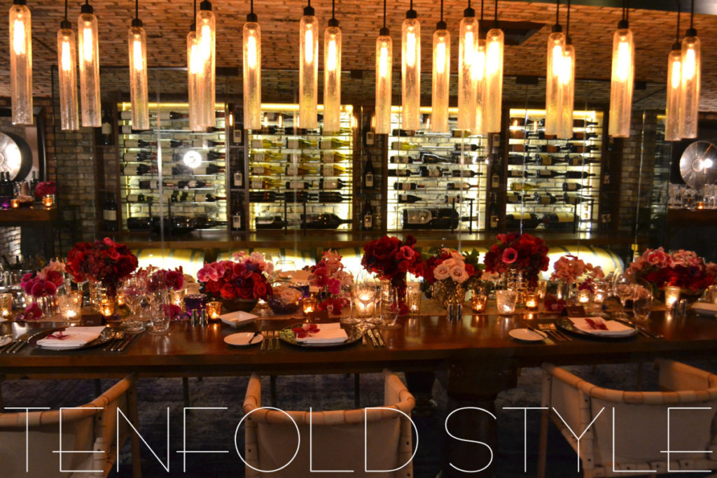 Wine Cellar Dinner Tenfold Style