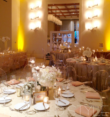 Terranea custom wedding design Tenfold Style