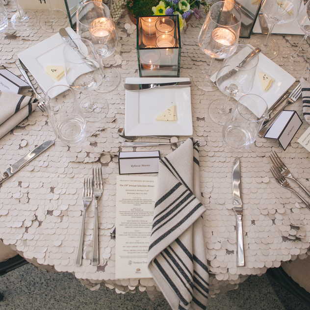 Tabletop design Tenfold Style