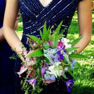 romantic tropical bouquet