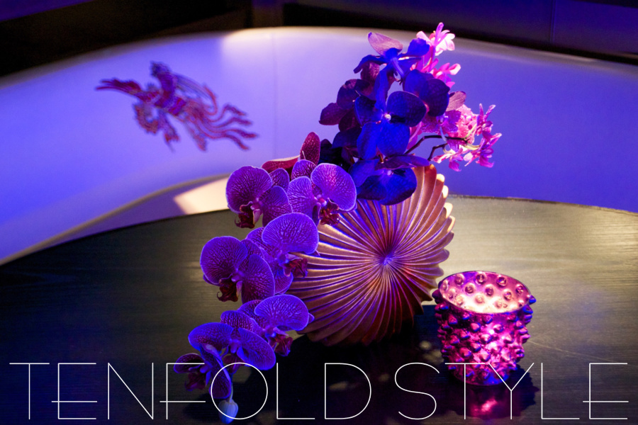 Fancy Nightclub decor Tenfold Style