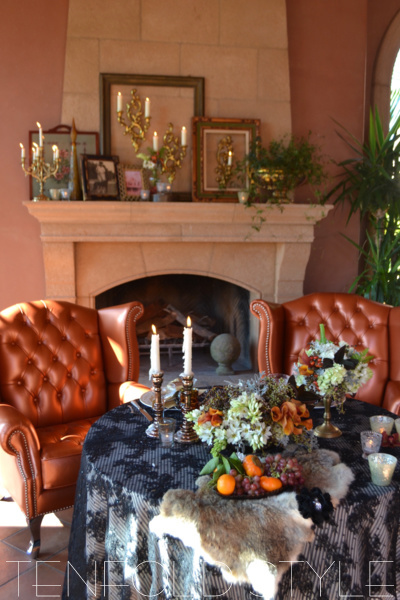 Rustic Sweetheart Table Tenfold Style