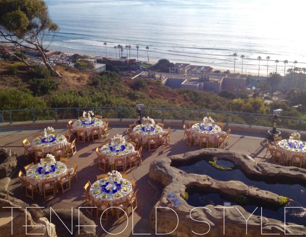 Coastal Terrace patio Tenfold Style
