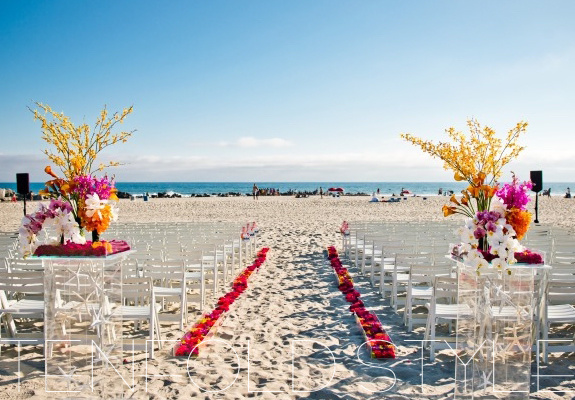 Hotel Del Beach Wedding