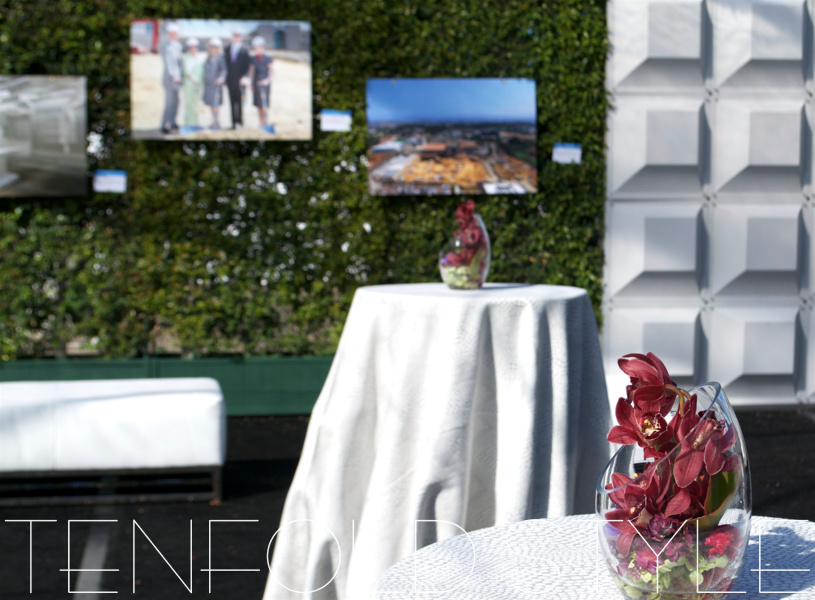 Gallery Walls for event Tenfold Style