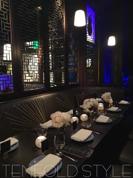 Hakkasan Nightclub VIP lounge Tenfold Style