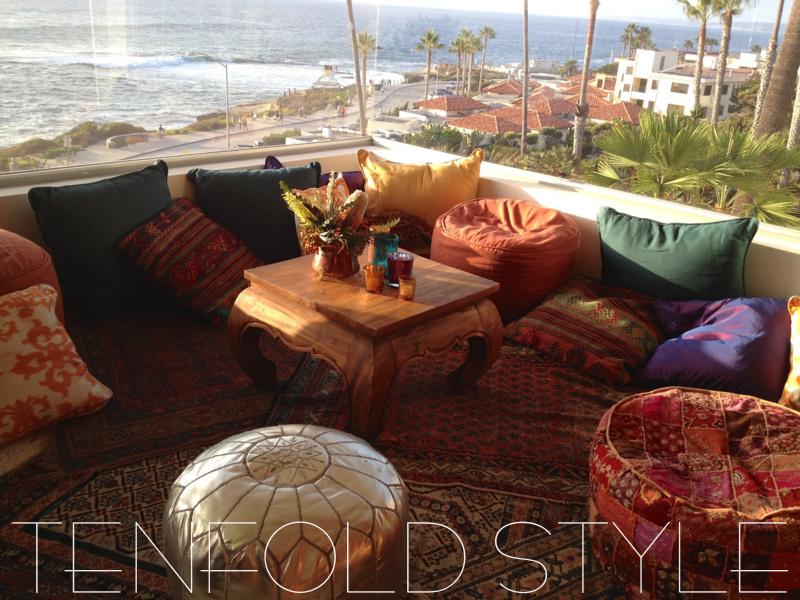 Moroccan Lounge Seaside Tenfold Style